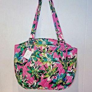 Vera Bradley Glenna Shoulder Bag tropical Paradise